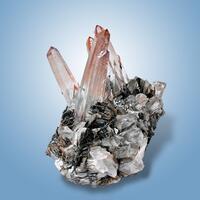 Quartz & Hematite