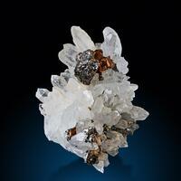 Quartz Pyrite & Sphalerite