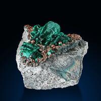 Malachite Azurite & Goethite