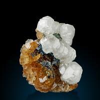 Calcite Fluorite & Pyrite