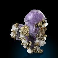 Fluorite Pyrite Calcite & Quartz