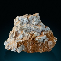 Siderite Chalcedony & Calcite