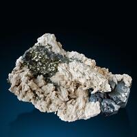 Calcite Pyrite & Galena