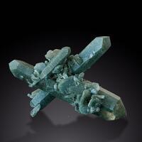 Quartz With Chlorite Inclusions