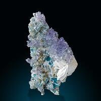 Amethyst Baryte & Celadonite