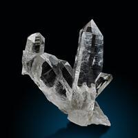 Rock Crystal & Rutile