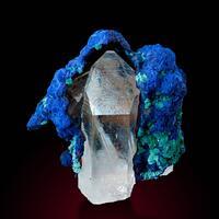 Azurite Malachite Goethite & Quartz