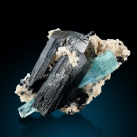 Aquamarine Tourmaline & Feldspar Group