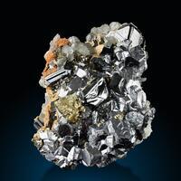 Sphalerite Galena & Chalcopyrite