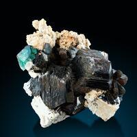 Fluorite Schorl & Feldspar Group