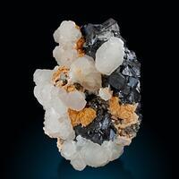 Manganoan Calcite & Sphalerite