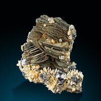 Pyrrhotite Sphalerite & Quartz