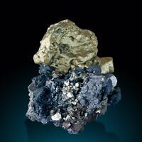 Chalcopyrite Pyrite & Galena