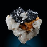 Sphalerite Calcite & Siderite