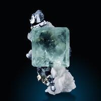Fluorite Galena & Pyrite