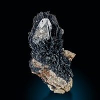 Rock Crystal & Schorl