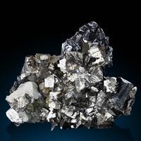 Sphalerite Arsenopyrite & Calcite