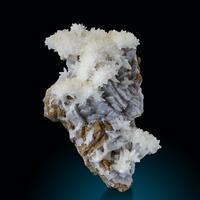 Calcite Chalcedony & Siderite