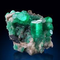 Emerald & Calcite