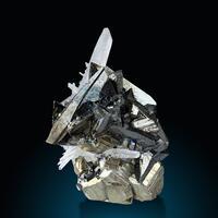 Tetrahedrite Pyrite & Quartz