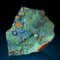 Conichalcite & Azurite