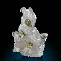 Pyrite & Rock Crystal