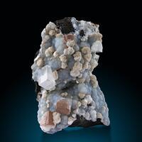 Apophyllite Gyrolite & Chalcedony