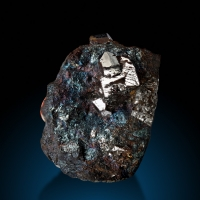 Sperrylite & Chalcopyrite