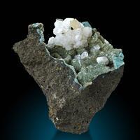 Chabazite Celadonite & Calcite