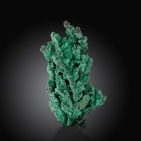 Malachite & Native Copper