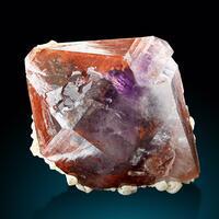 Quartz Hematite & Fluorite