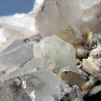 Topaz & Fluorite