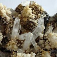 Aragonite Quartz & Hematite