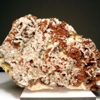 Siderite With Calcite & Baryte