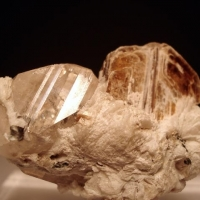 Topaz With Phlogopite & Cleavelandite