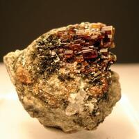 Vesuvianite & Clinochlore