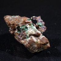 Cuprite Native Copper Azurite & Malachite