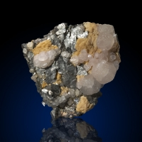 Arsenopyrite Siderite & Calcite