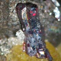 Pyrargyrite & Allemontite