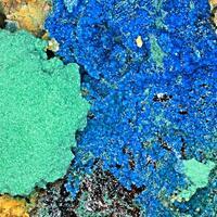 Antlerite & Carbonatecyanotrichite