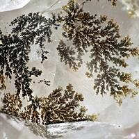 Fluorite & Manganese Dendrites
