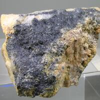 Plumbotellurite & Native Tellurium