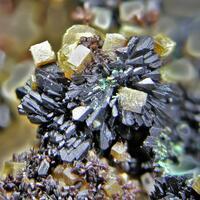 Ferrihydrite & Bariopharmacosiderite