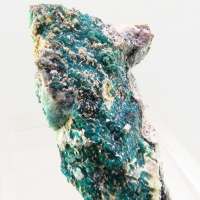 Native Silver & Chrysocolla