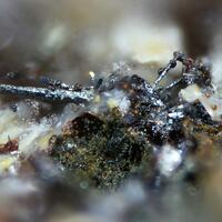 Native Selenium Naumannite & Bohdanowiczite