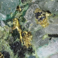 Native Gold & Aikinite