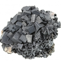 Goethite On Fluorite