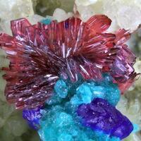 Erythrite Azurite & Tyrolite