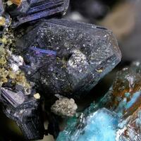 Polybasite Aurichalcite & Brochantite