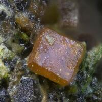 Clinobisvanite & Namibite